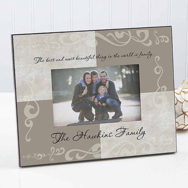 Personalized Picture Frames Family Name