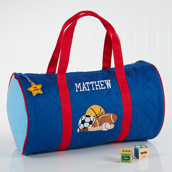 Boys Personalized Sports Duffel Bag   Travel Case - 7348.  29.99sale 0c1836da99edc