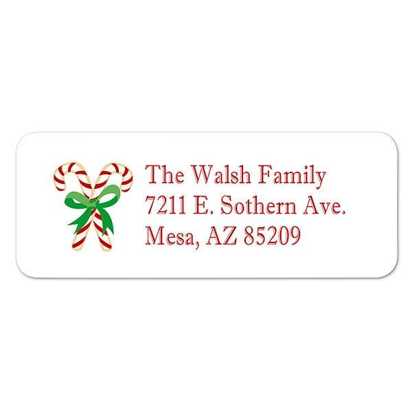Christmas Return Address Labels.Season S Greetings Return Address Labels