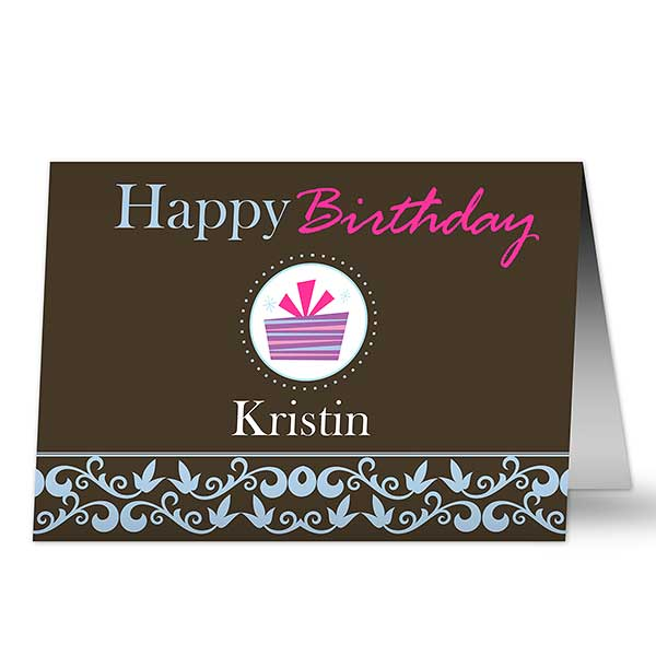 Personalized Birthday Cards for Her - 7488