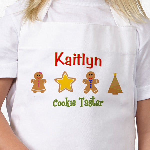 Christmas Cookies Personalized Apron & Potholder - 7646