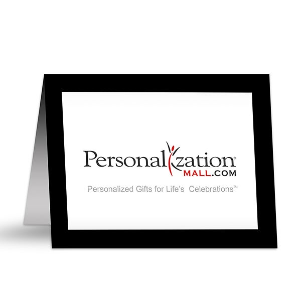 Company Logo Personalized Business Note Cards - 7699