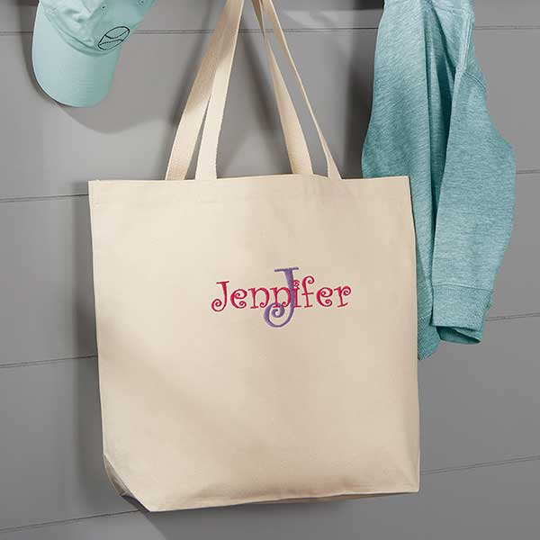 shopping Embroidered  Nurse canvas tote Customized bag custom personalized