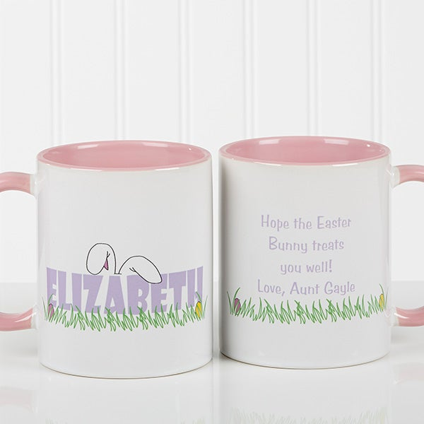 Personalized Easter Mug - Ears To You - 7976