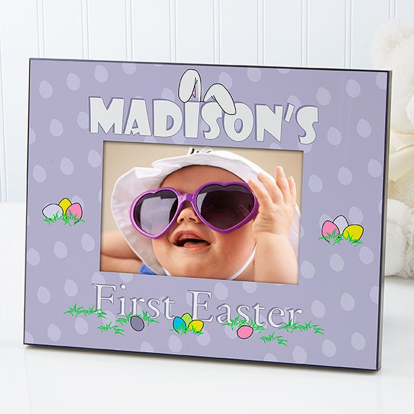 Baby's First Easter Personalized Picture Frame - 7978