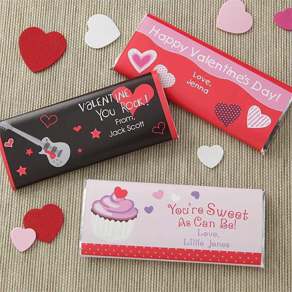 Personalized Chocolate Bar Wrappers Sweet As Can Be