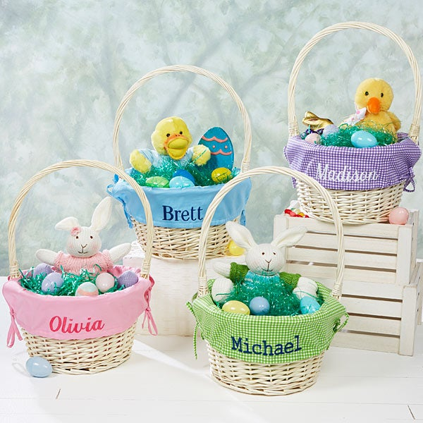 7984 Personalized Jumbo Easter Baskets