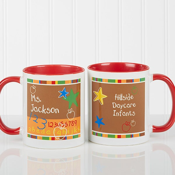 Personalized Preschool Teacher Coffee Mug - 8033