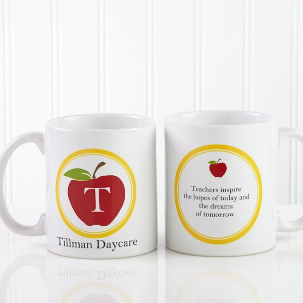 Personalized Teacher Coffee Mug - Teachers Inspire - 8036