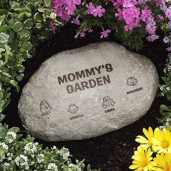 Personalized Garden Stones - Our Loving Family - 8192