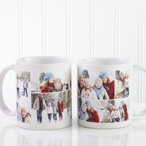 Photo Collage Personalized Coffee Mug - 8214