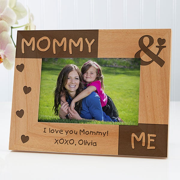 Mommy Me Personalized Picture Frames