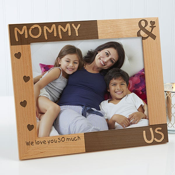 Personalized Mommy Me Picture Frames 8x10 For Her