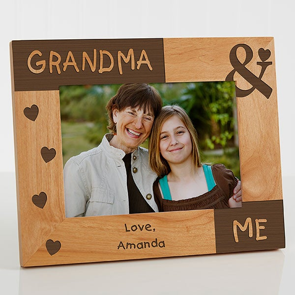 Personalized Mommy Me Photo Frame 5x7 For Her