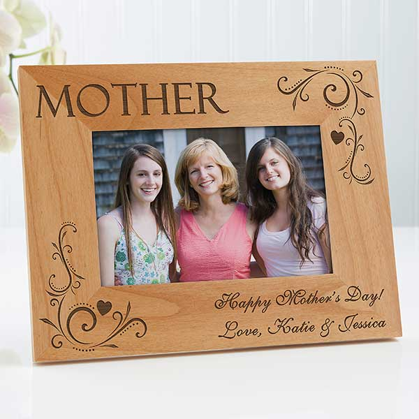 Personalized Picture Frames For Mom Loving Hearts