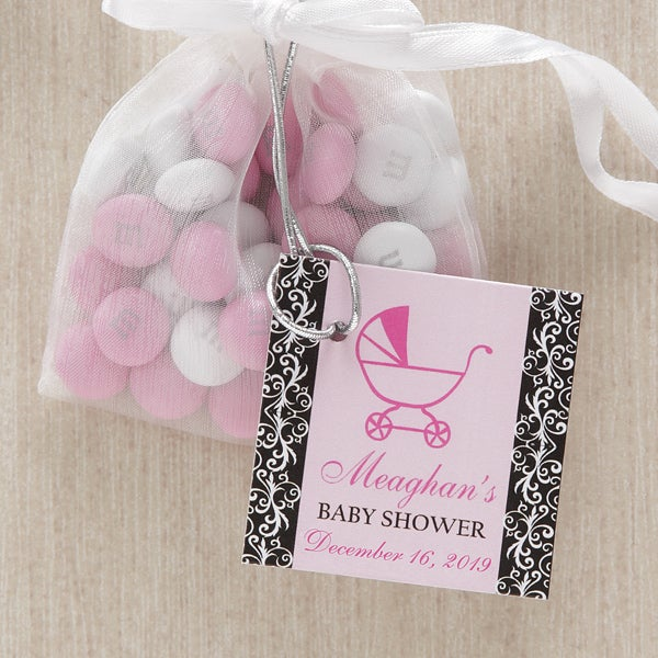 Little Darling Personalized Baby Shower Party Favor Tag - 8321