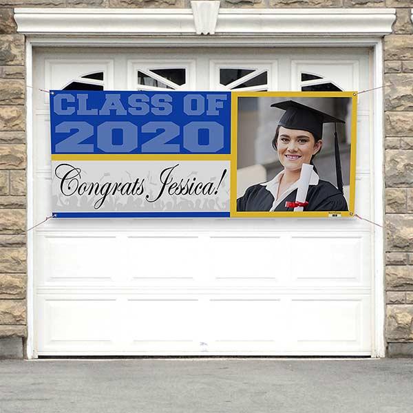 Photo Personalized Graduation Banners