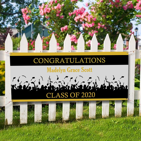 Congratulations Personalized Banner