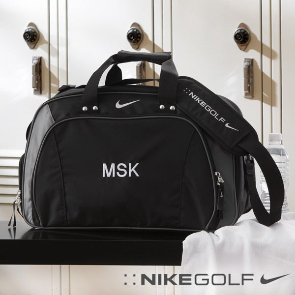 Personalized Nike Duffel Bag With Embroidered Monogram 8588