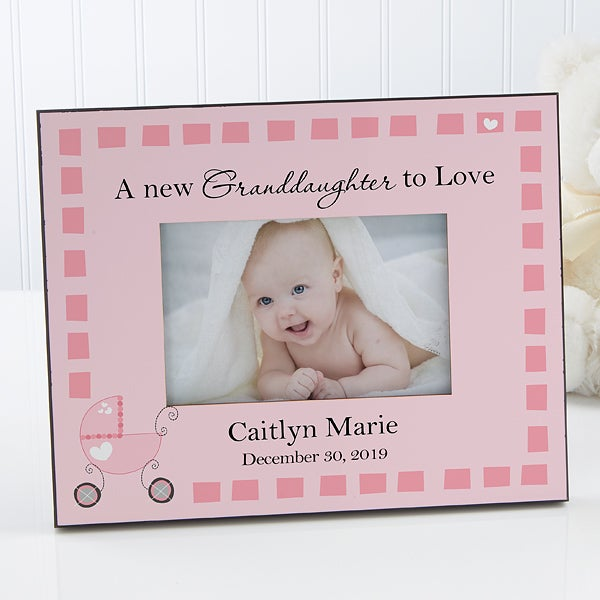 Personalized Grandparent Picture Frame - New Grandbaby - 8653