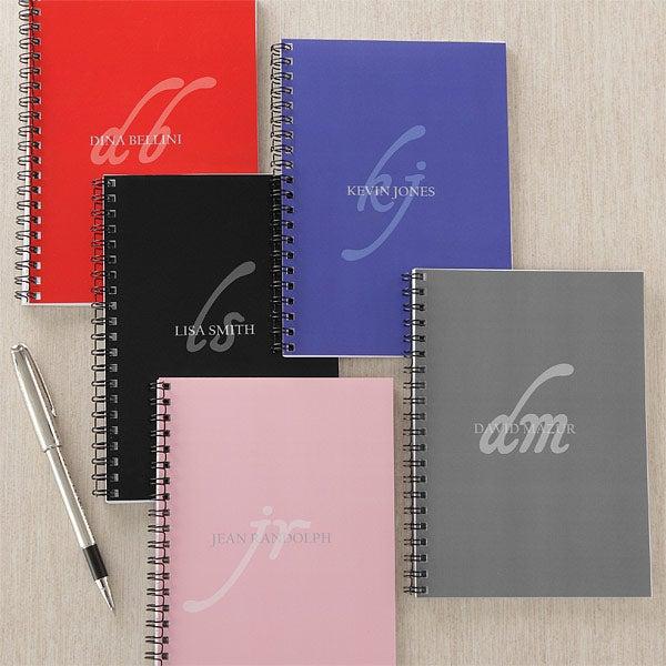 My Monogram Personalized Mini Notebooks Set Of 2