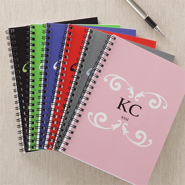 Personalized Notebooks Sets Monogram Me