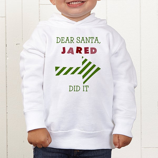 Personalized Christmas Clothes - Dear Santa - 9427