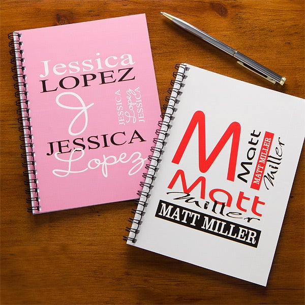 Personalized Notebooks - Personally Yours Mini Notebook Set - 9542