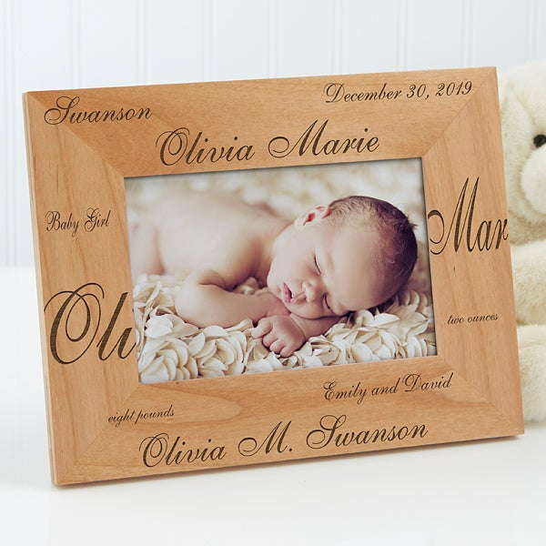 Personalized Baby Picture Frames New Arrival 4x6