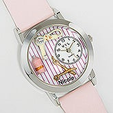 Personalized 3-D Beautician Watch - 6083D