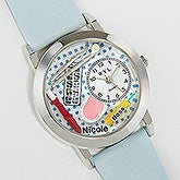 Personalized Dentist Leather Watch - 6085D
