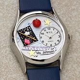 3-D Teacher Personalized Watch