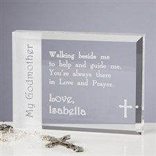 Personalized Godparent Engraved Keepsake Gifts - 6107