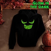 I See You Personalized Glow-In-The-Dark Hooded Sweatshirt