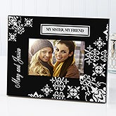 Black Personalized Picture Frames - French Style  - 6143