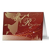 Angel Gabriel Religious Personalized Christmas Cards - 6175
