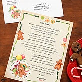 Cookies & Milk© Personalized Letter From Santa