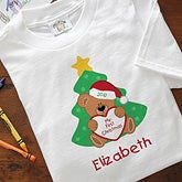 My First Christmas Personalized Baby T-Shirt