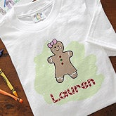 Personalized Gingerbread Man Christmas Hooded Sweatshirts