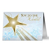 Star of Bethlehem Personalized Christmas Cards - 6293
