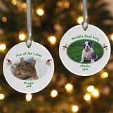 Our Favorite Pet Personalized Ornament