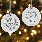 Personalized Pet Memorial Christmas Ornament - Faithful Friend - 6349
