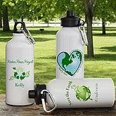 Eco Friendly Personalized Aluminum Water Bottle - 6358