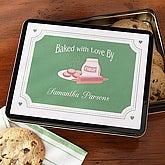 Baked With Love Personalized Gift Tins - 6369