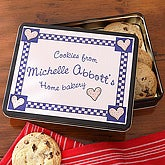 From The Kitchen Of Personalized Gift Tin - 6370