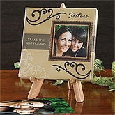 Personalized Photo Canvas Art - Sister's Love - 6443