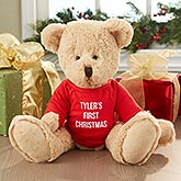 Personalized Christmas Teddy Bear - 6484