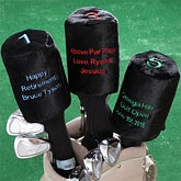 Personalized Golf Club Covers for Golfers - 6497