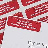 Christmas Lights Personalized Return Address Labels - 6531