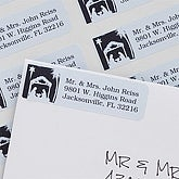 Away In A Manger© Return Address Labels